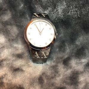 Armani Exchange silver watch